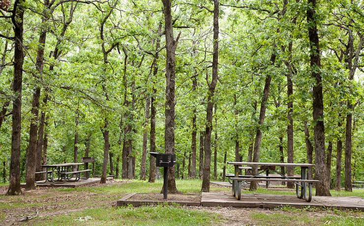 best campgrounds in missouri