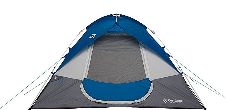 Outdoor Products 6 Person Instant Dome Tent Review