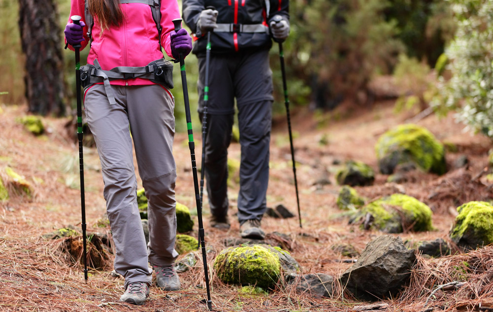 hiking for beginners poles
